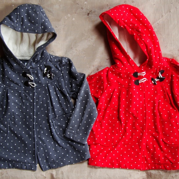 Old Navy Other - LOT OF 2 Twins Old Navy Polka Dot Sweatshirts